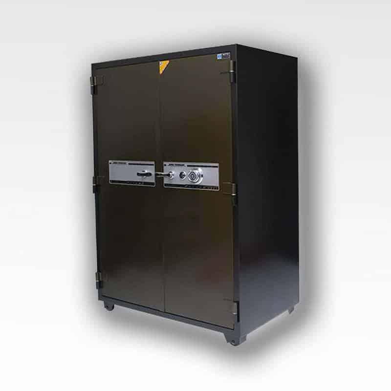 Két Sắt Chống Cháy 2 Cánh RITO RT-167C ( Khóa Cơ - Thép dày 1.6mm) 37