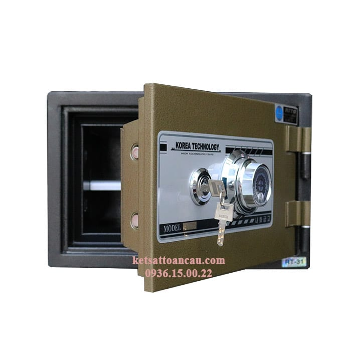 Két Sắt RITO RT-31C (Khoá Cơ – Thép Dày 1.2mm) - 3.050.000đ