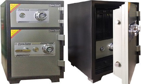 các sản phẩm két sắt đó có thể là hàng tồn kho, lỗi mốt hoặc là két sắt cũ được chuyển nhượng lại.