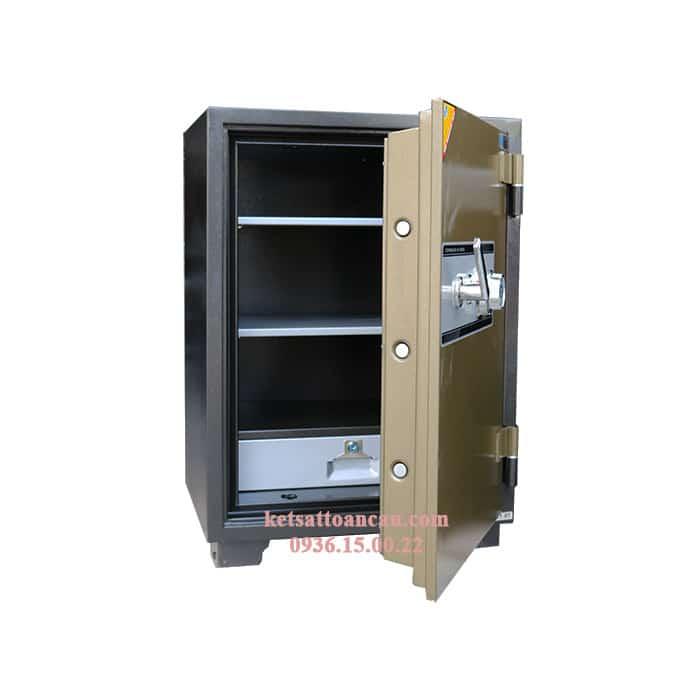 Nên mua két sắt cơ hay điện tử