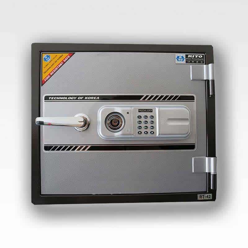 Két sắt RITO RT42-H ( Khóa điện tử hàn quốc- thép dày 1mm) 2