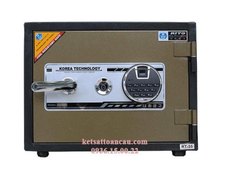 két sắt mini có khóa điện tử