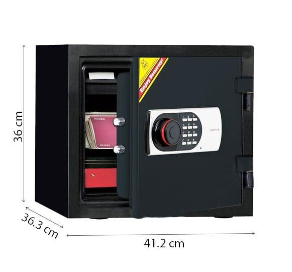 Kích thước két sắt mini