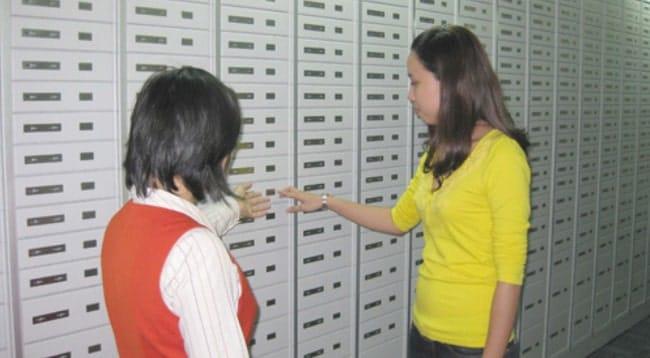 dịch vụ thuê két sắt của ngân hàng