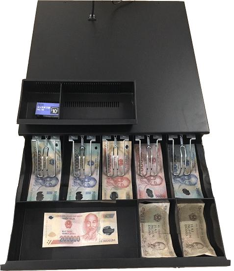 Số lượng ngăn đựng tiền trong két sắt