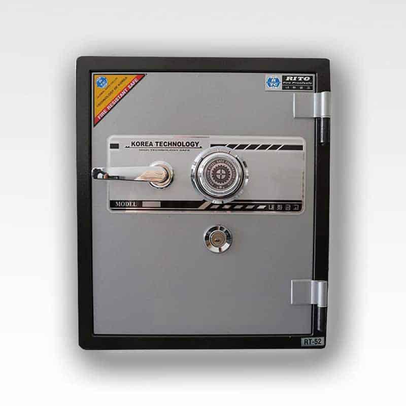 Két sắt RITO RT52-C (Khóa cơ- thép dày 1mm) 2