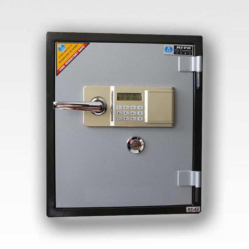 Két sắt RITO RT52-E (Khóa điện- thép dày 1mm) 15