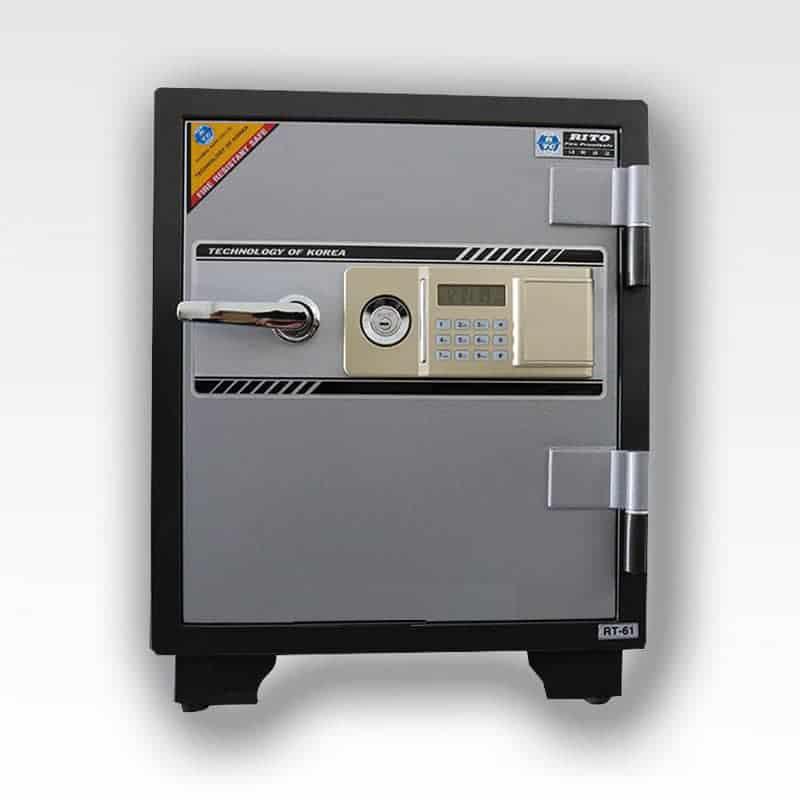 Két sắt RITO RT61-E (Khóa điện tử- thép dày 1mm) 24