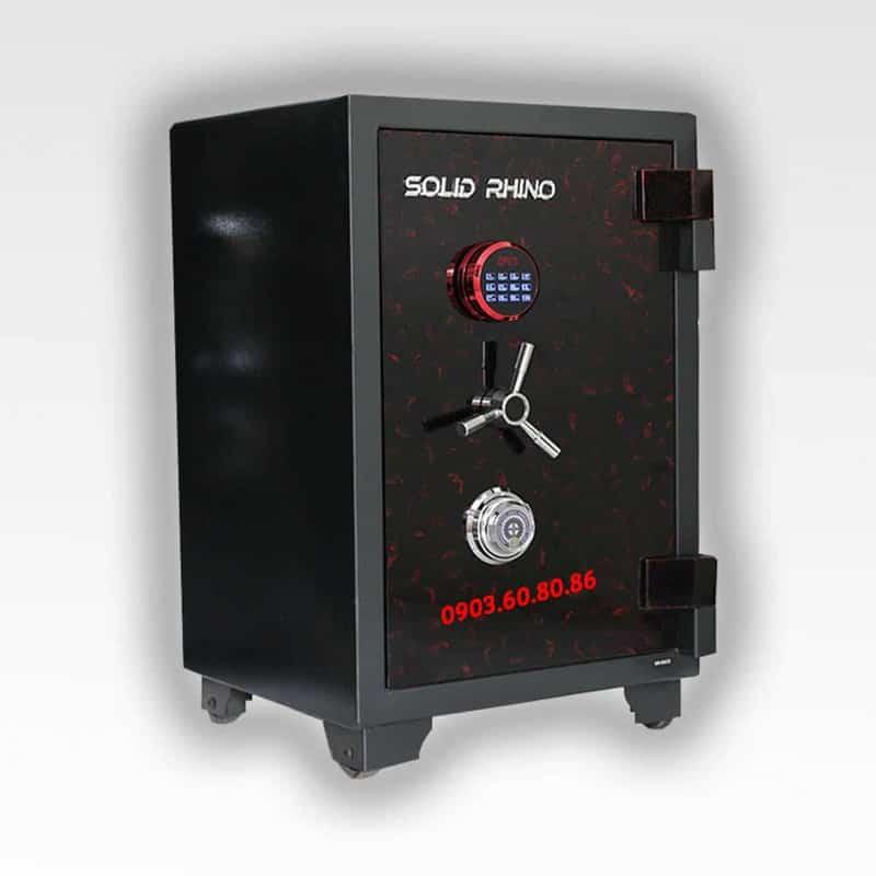 Két Sắt Xuất Khẩu SoLid SR80Đ-CE (khoá cơ và khoá điện tử) 4