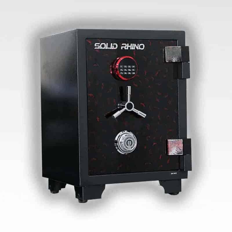 Két Sắt Xuất Khẩu SoLid SR70Đ-CE (khoá cơ và khoá điện tử) 6