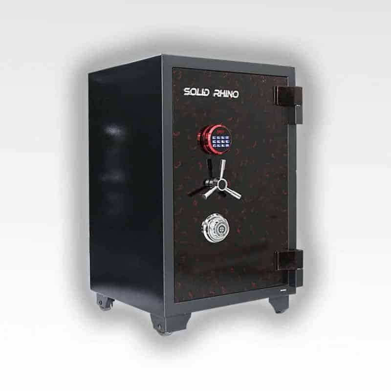 Két Sắt Xuất Khẩu SoLid SR90Đ-CE (khoá cơ và khoá điện tử) 11