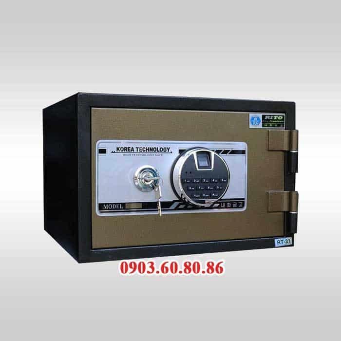Két Sắt RITO RT-31V Khoá Vân Tay - Thép Dày 1.6mm